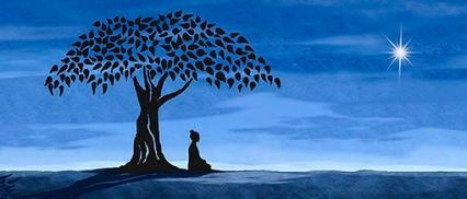 Buddha-meditando